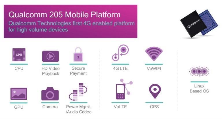 Qualcomm Snapdragon 205 Mobile