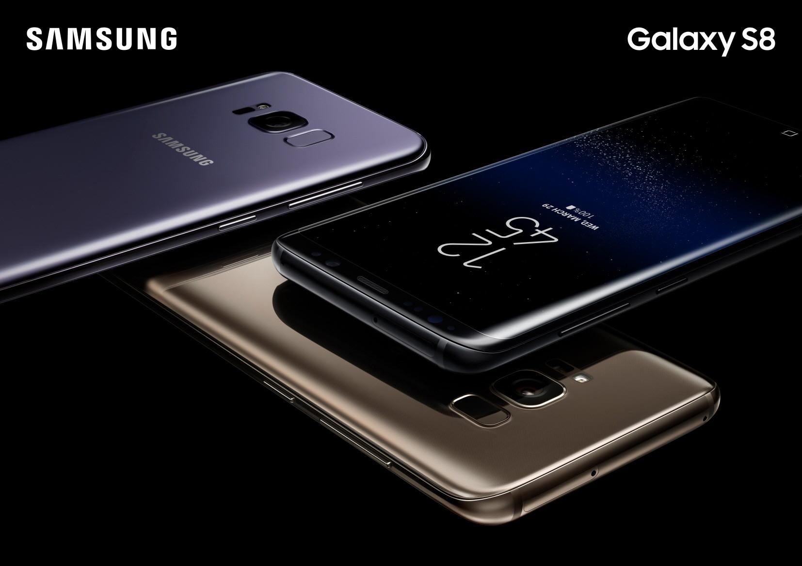 Con ustedes, los nuevos Galaxy S8 y Galaxy S8+