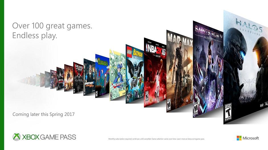 Xbox Game Pass llega para competir en un negocio casi inexistente en el mercado