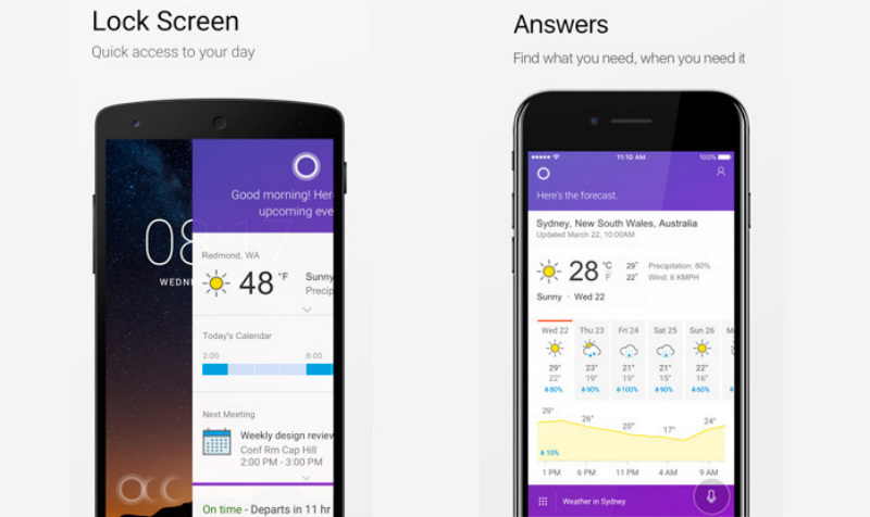 Cortana para Android estrena nuevas funciones