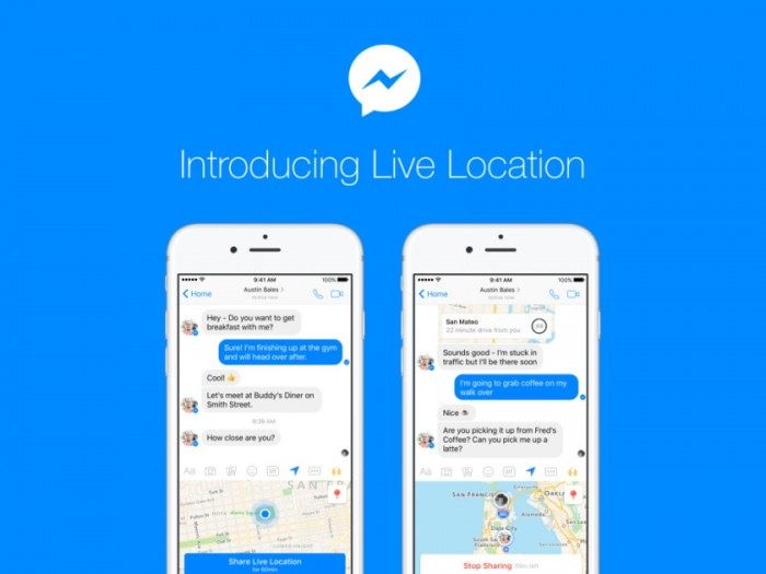 facebook messenger livelocation