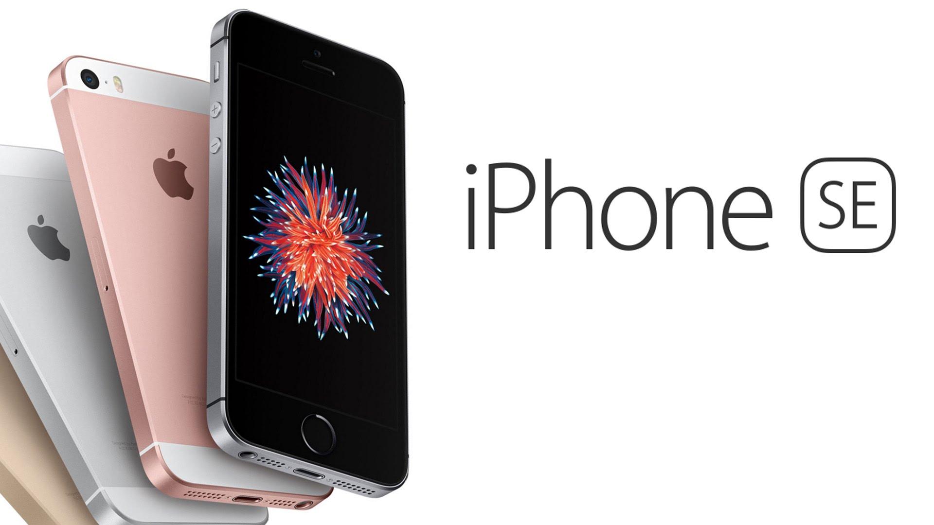 iPhone SE tendrá nuevas capacidades de almacenamiento