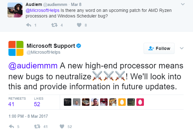 microsoft-support-amd-ryzen