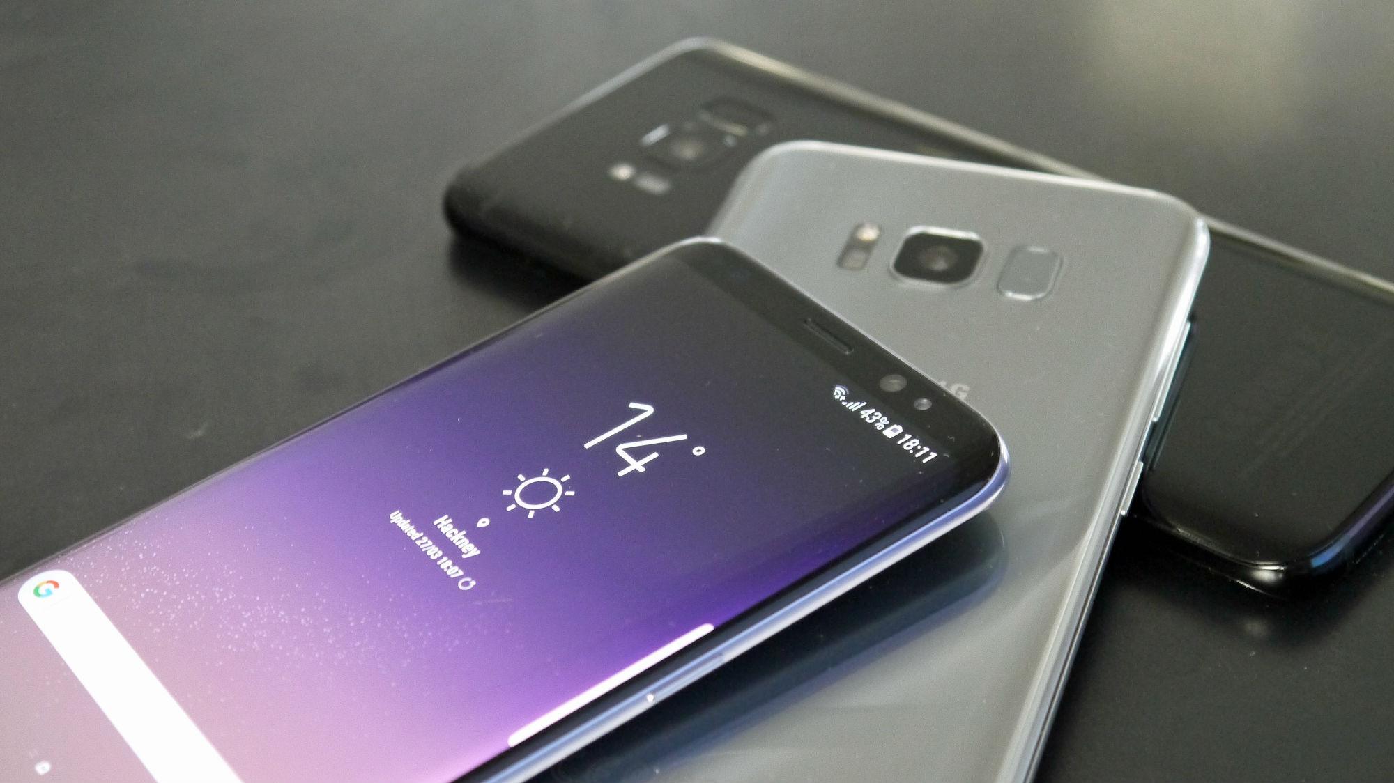 Galaxy S8 entrega un alto rendimiento en pruebas