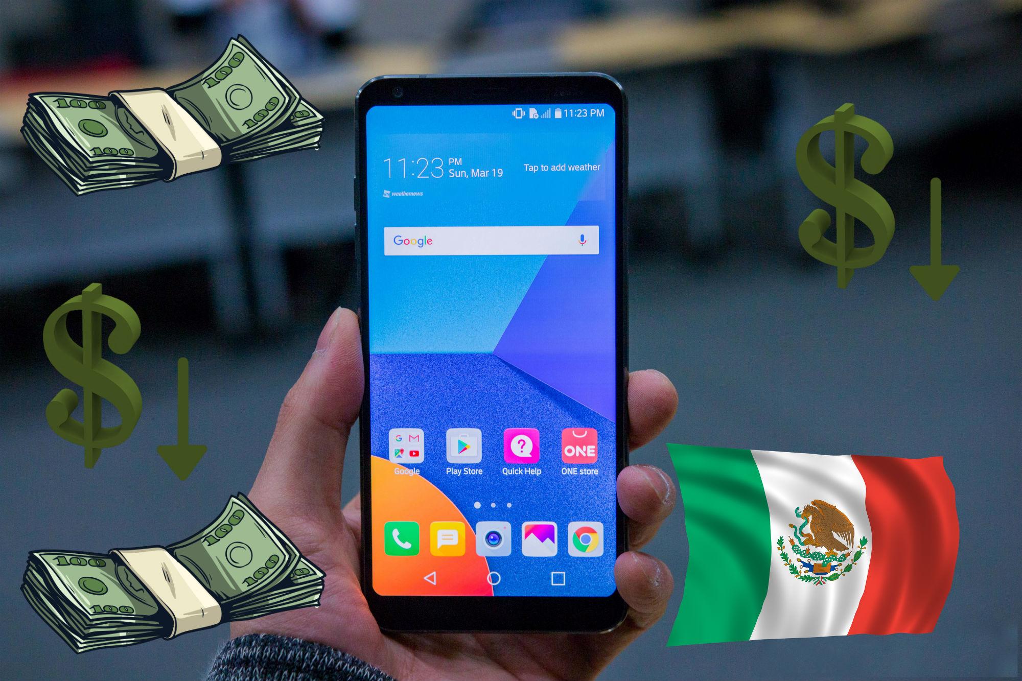 Ya bajó el precio del LG G6 y todavía no llega a los CACs de Telcel