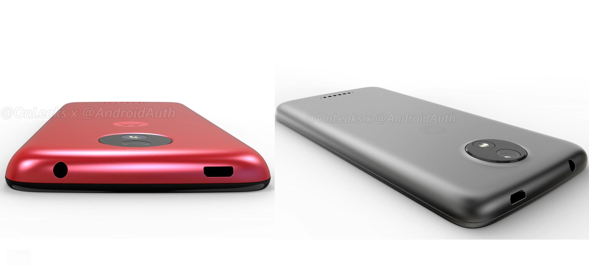 Así luce el Moto C (izquierda) y Moto C Plus (derecha)
