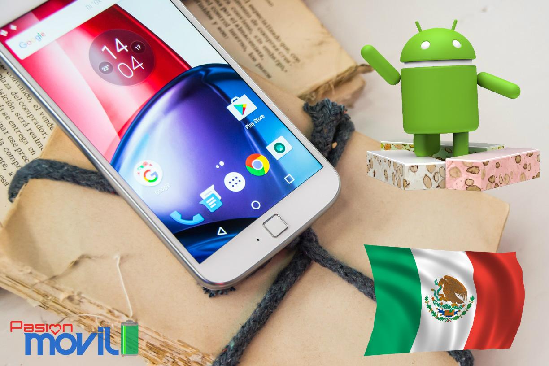 Ya podrás gozar de Nougat en México con el Moto G4 Plus de AT&T