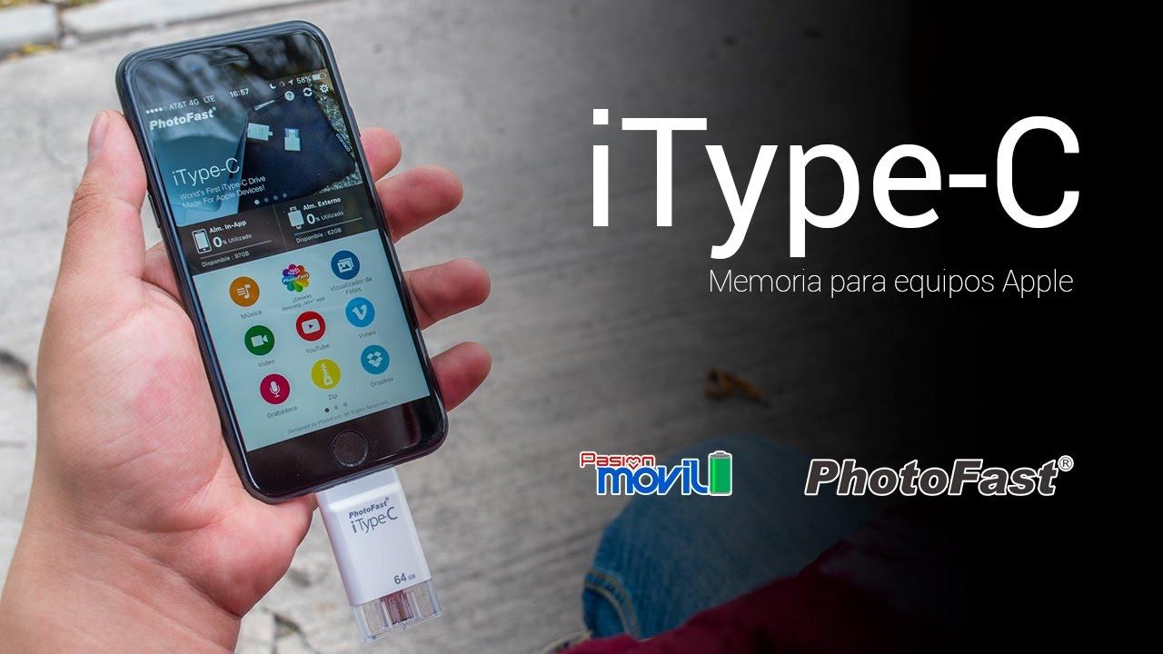 Conoce al Photofast iType-C, un accesorio bastante útil si tienes un iPhone