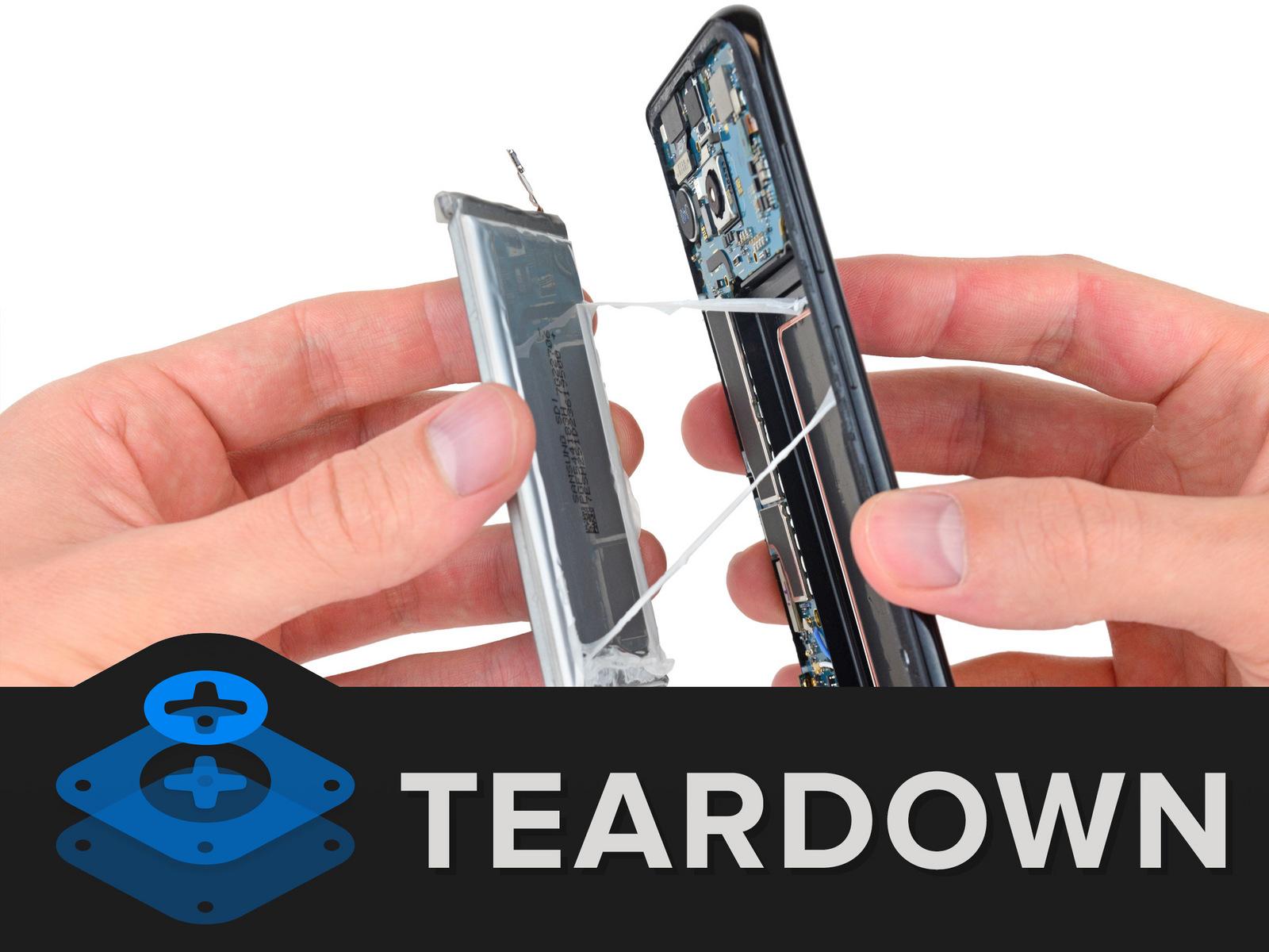 Samsung Galaxy S8 desarmado ifixit2