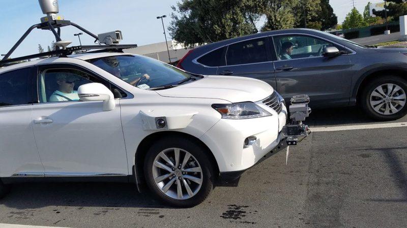 apple lexus-automóvil autonomo