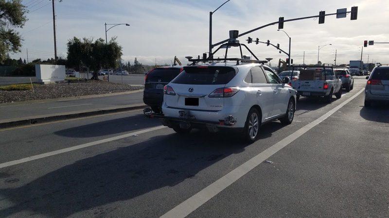 applelexus pruebas automóvil autonomo