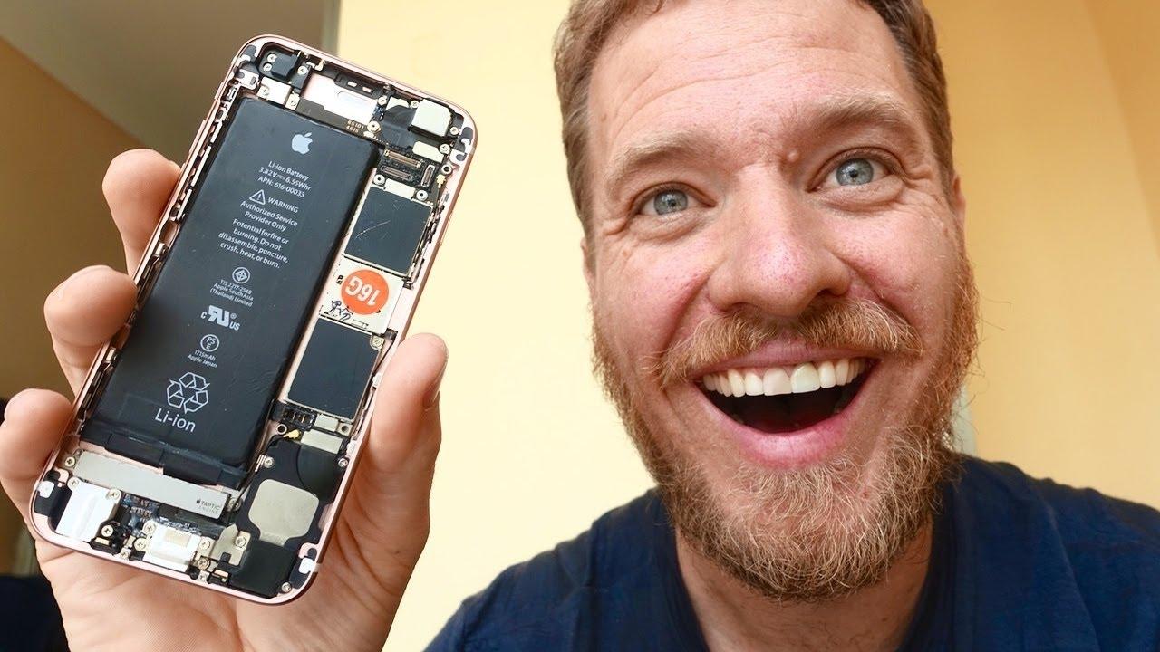 Esta es la felicidad de armar tu propio iPhone