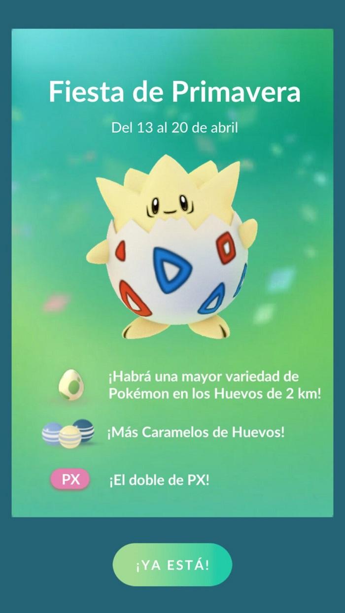fiesta primavera pokemon go