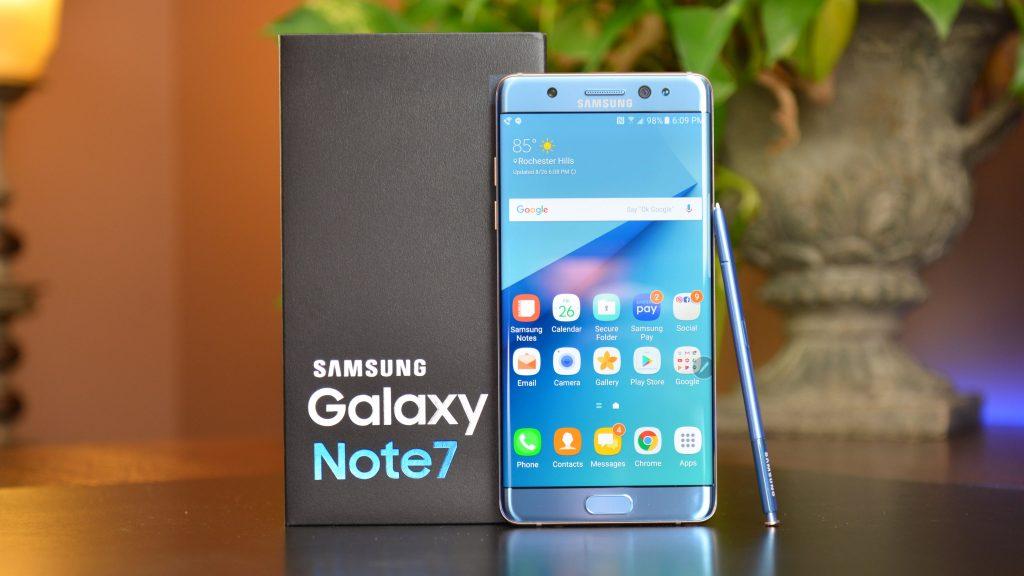 Ya están cada vez más cerca los Galaxy Note 7 reacondicionados