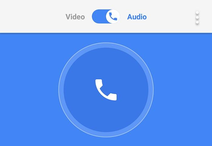 google duo voz