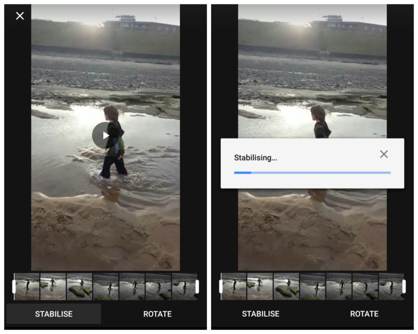 google-photos-agrega-estabilizador video