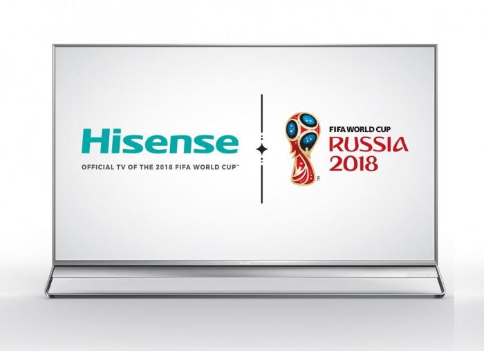 hisense tv oficial 2018 fifa