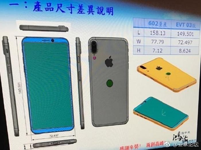 iPhone-8-disenio similar LG-G6