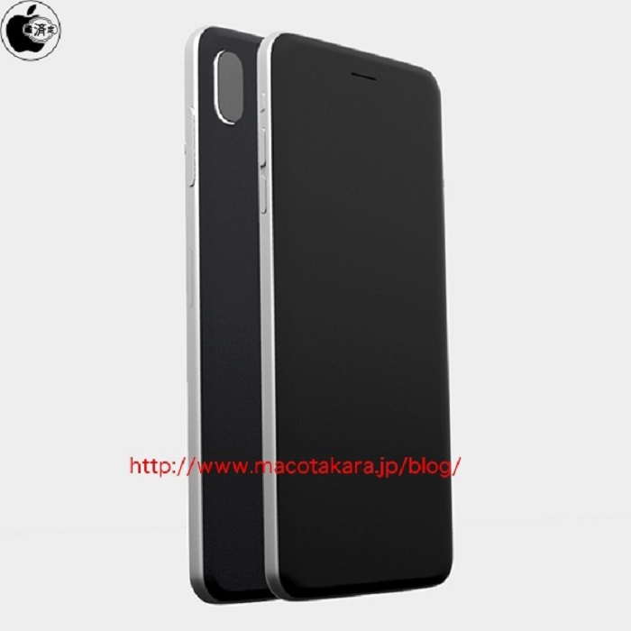 iphone 8 prototipo cuerpo metálico camara doble vertical