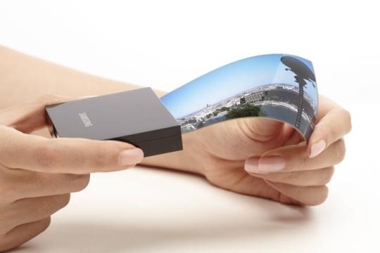 pantalla flexible samsung display