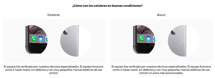 rescata diferencia smartphone excelente y bueno
