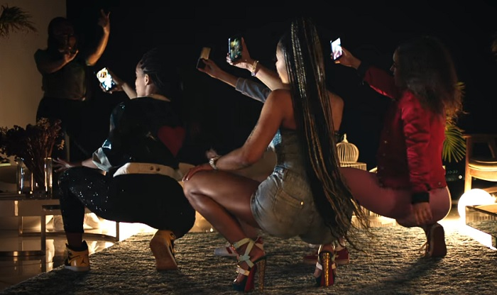 video musical uso smartphones