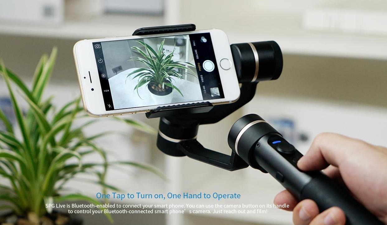 Adquiere un estabilizador óptico profesional para grabar los mejores videos