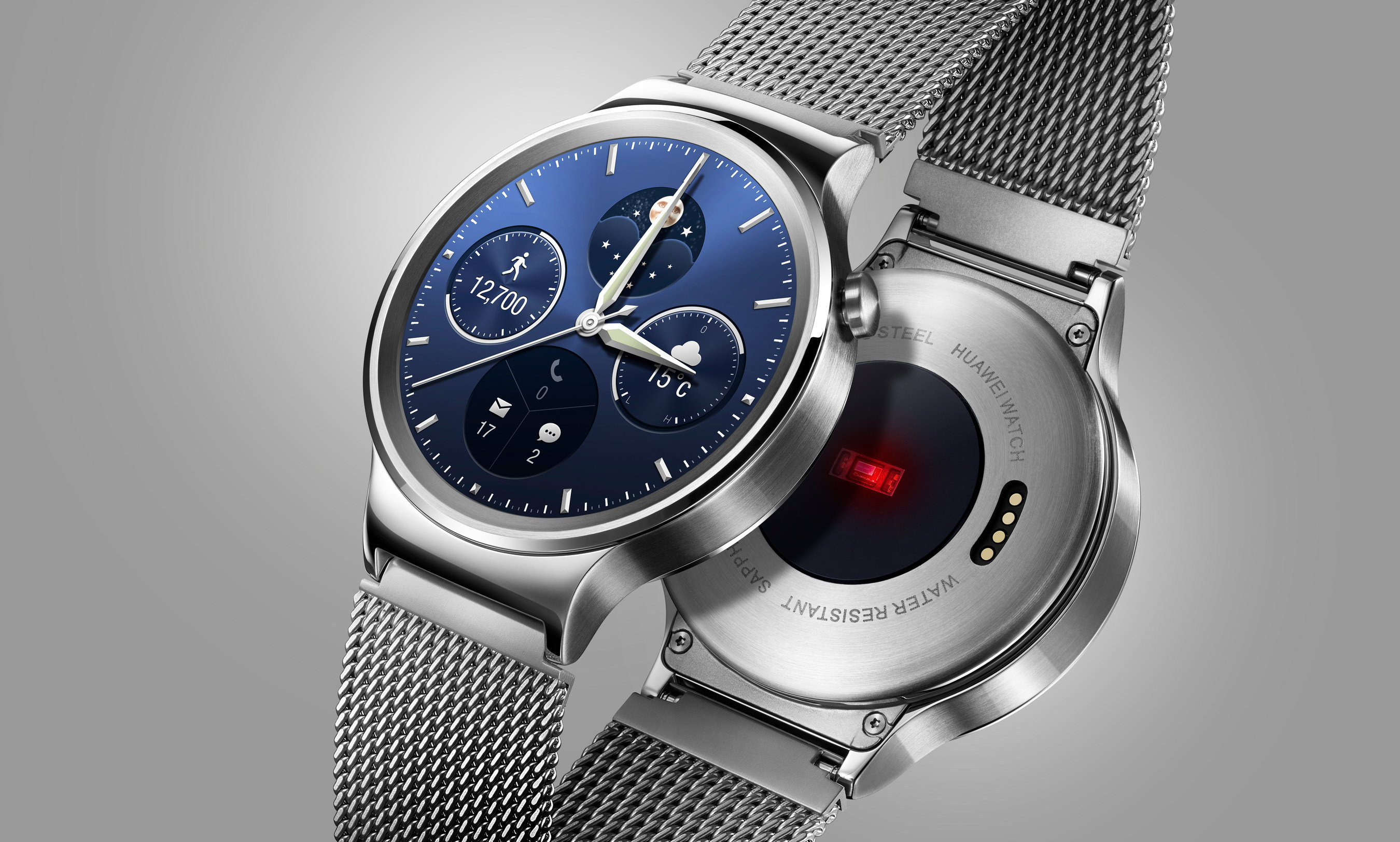 Huawei Watch recibe finalmente Android Wear 2.0