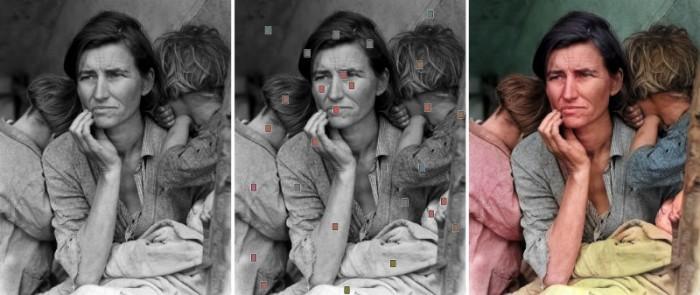 Interactive Deep Colorization