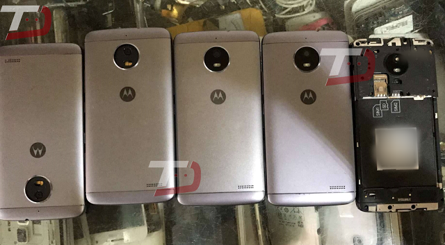 Así luciría la parte trasera del Moto E4 Plus
