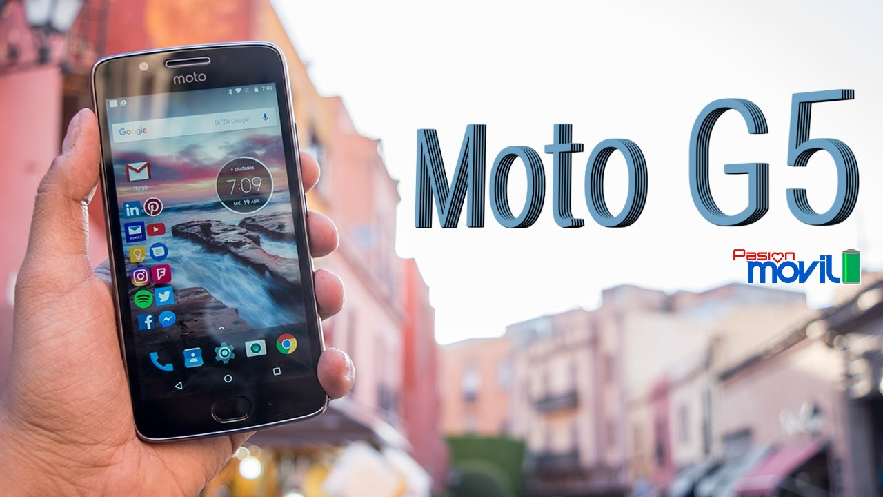 Conoce al nuevo Moto G5 en todo su esplendor