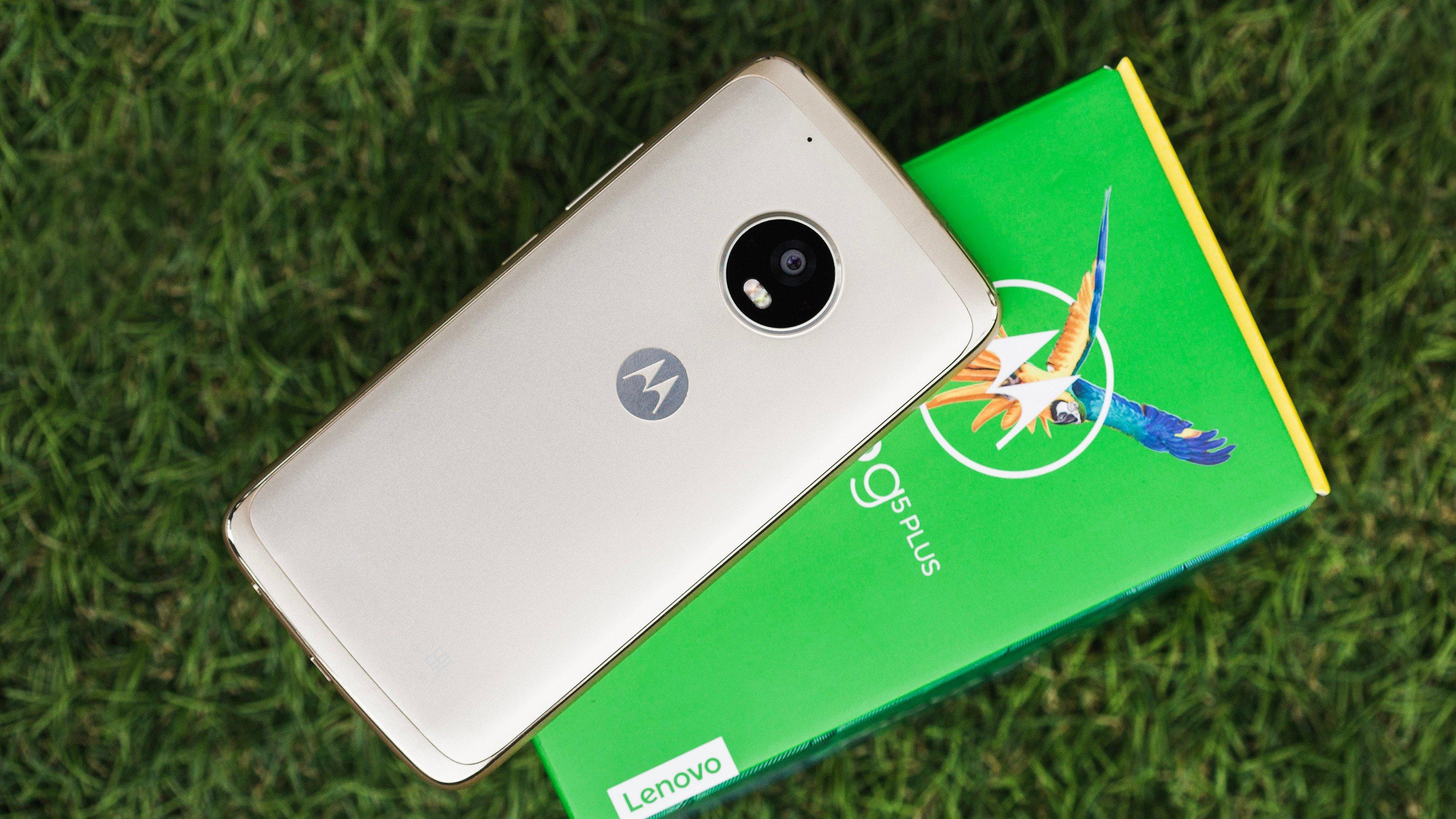 Moto G5 Plus caja oficial