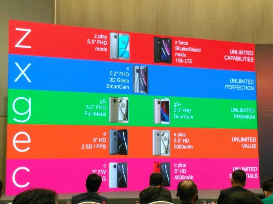 Motorola lanzará 7 nuevos telefonos durante el resto del año