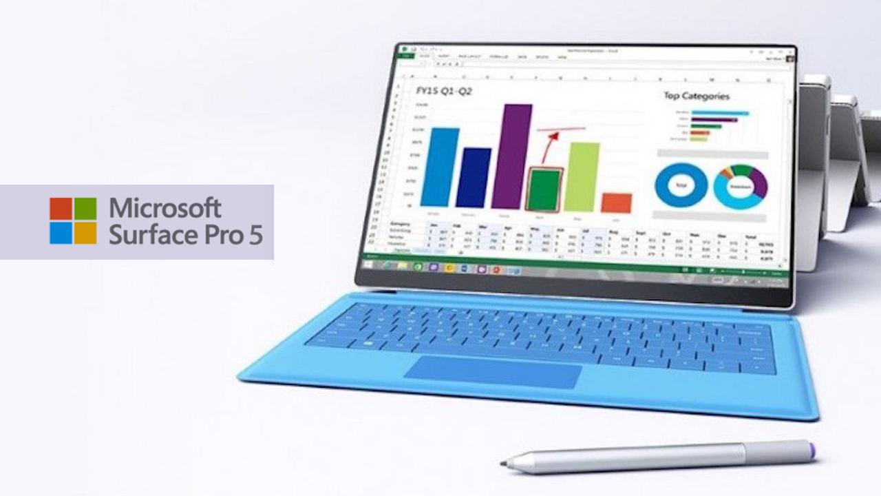 Surface Pro 5 podría llegar hasta finales del 2017