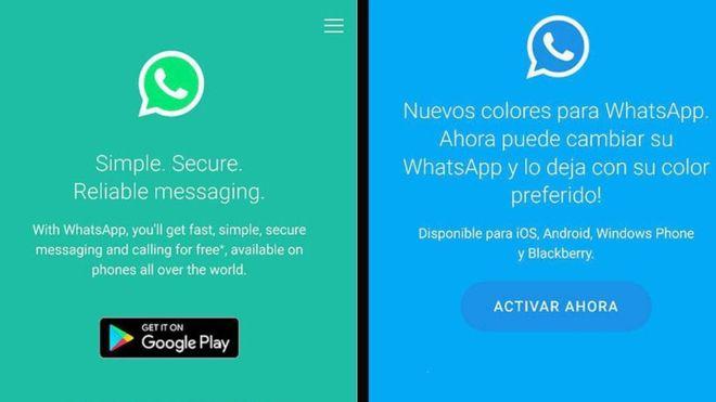 estafa whatsapp colores