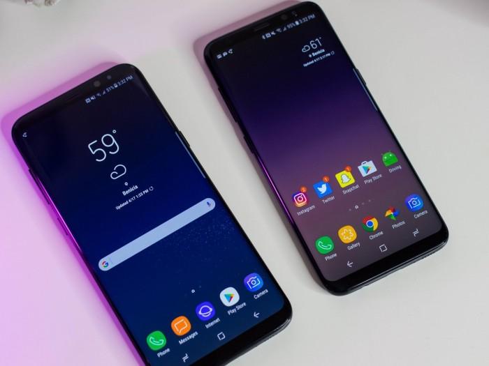 Galaxy S8 y S8+: dos de los móviles más vendidos