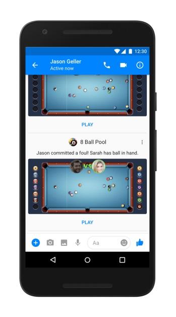 games-8ballpool facebook messenger