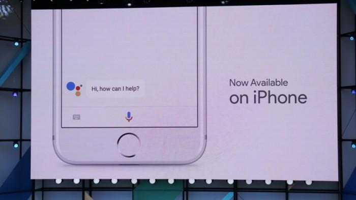 google assistant iphone google io 2017