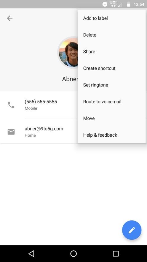 google-contacts-opciones