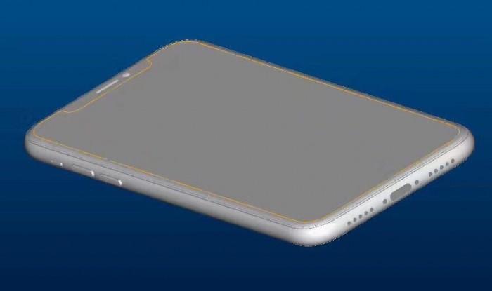 iphone 8 render computarizado