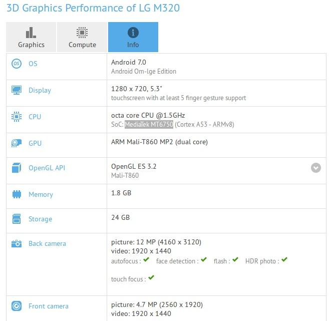 lg m320 benchmark