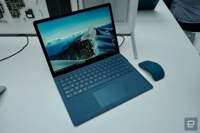 microsoft surface laptop azul