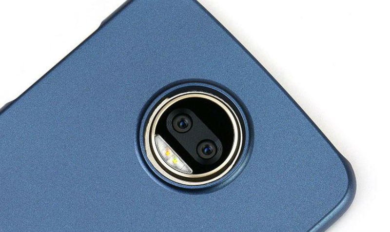 Así luce la doble cámara trasera del Moto Z2