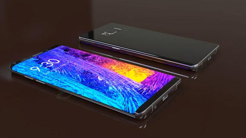 Galaxy Note 8 vendría a reconqusitar el mercado de gama alta
