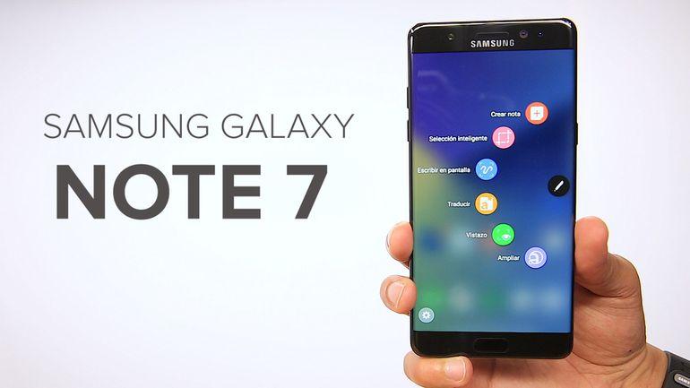 Ya está a la vuelta el Galaxy Note 7