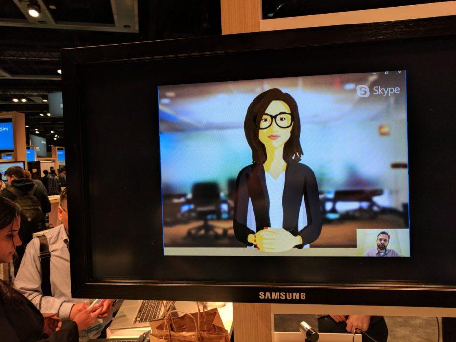 skype estrena videobots