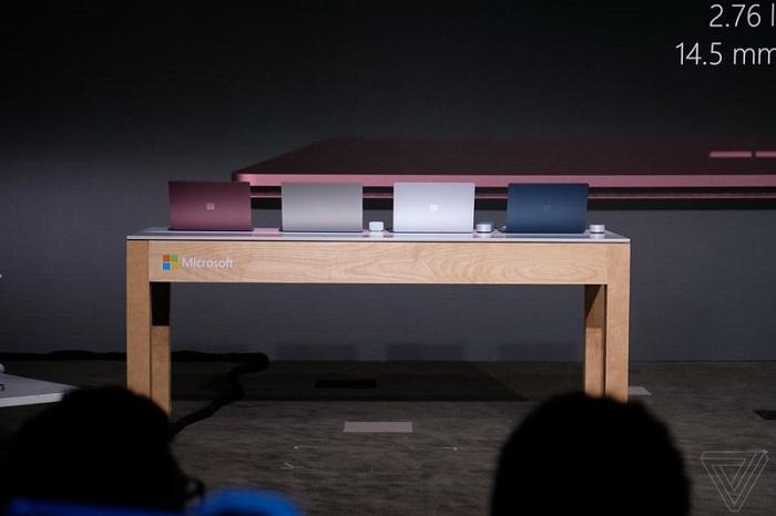 surface laptop colores