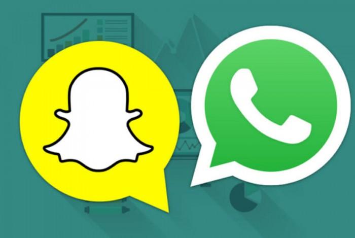 usuarios de WhatsApp usan mas los estados que los de Snapchat