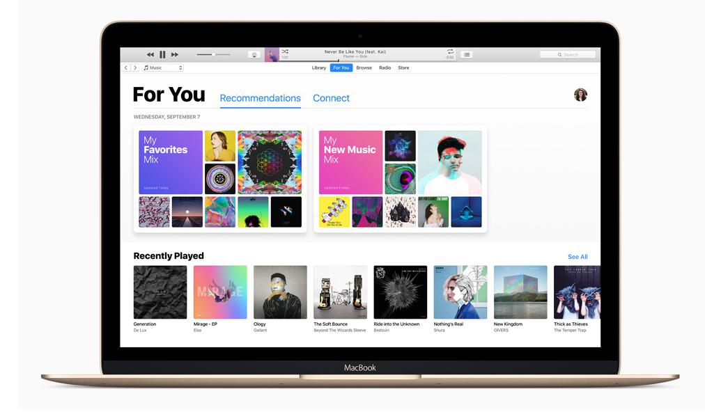 Ya se viene la aplicación oficial de iTunes para Windows 10