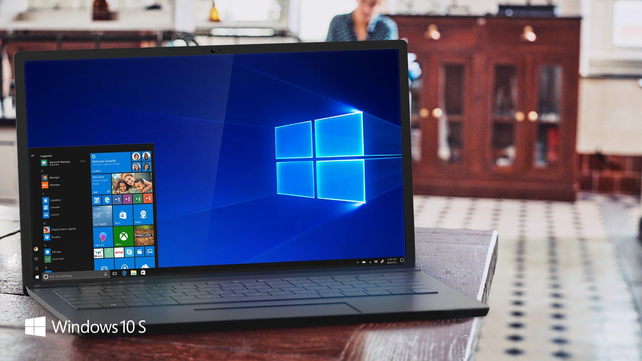 Windows 10 S quizás no sea del agrado de todos los usuarios